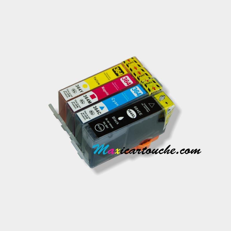 Encre HP 364XL Pack de 4.