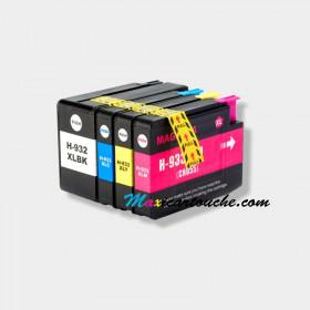 Encre HP 932-933XL Pack de 4.