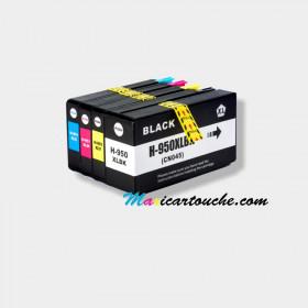 Encre HP 950-951XL Pack de 4.
