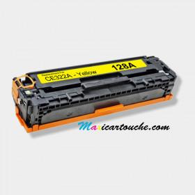 Toner Laser HP 128A Jaune (CB422A)